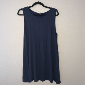 ☀️Forever 21 Navy Blue shirt dress- XL